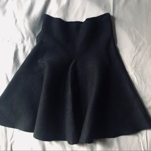 Zara fit and Flare knit skirt